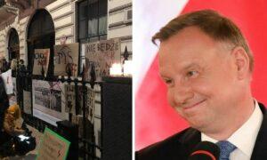 Andrzej Duda przerywa milczenie! Powiedział, co myśli o strajku i aborcji