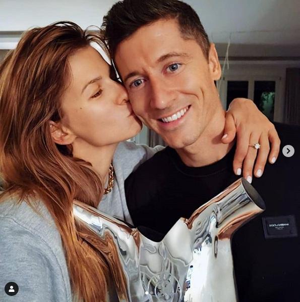 Anna Lewandowska jest dumna z męża