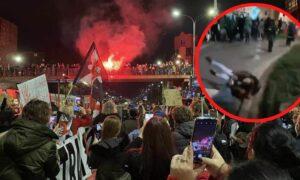 Walki uliczne we Wrocławiu w trakcie Strajku Kobiet! Są osoby poszkodowane