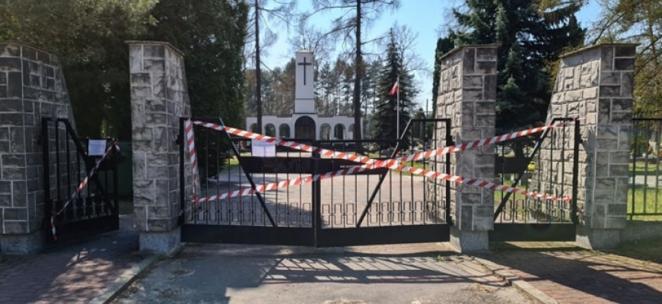 Jakie kary za wejście na cmentarz