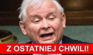 Jarosław Kaczyński na kwarantannie! Lider PiS-u miał kontakt z zakażonym