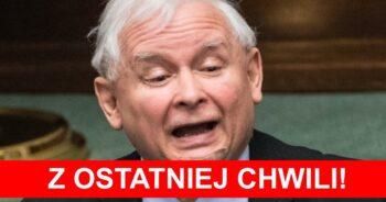 Jarosław Kaczyński na kwarantannie