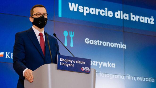 Konferencja premiera Morawieckiego