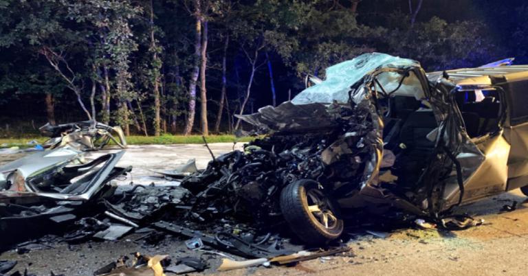Makabryczny wypadek na autostradzie