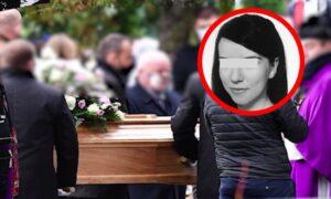 Pogrzeb 36-letniej Jagny z Rokitek. Za trumną szedł zrozpaczony synek kobiety