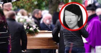 Pogrzeb 36-letniej Jagny z Rokitek