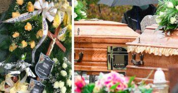 Pogrzeb matki i syna