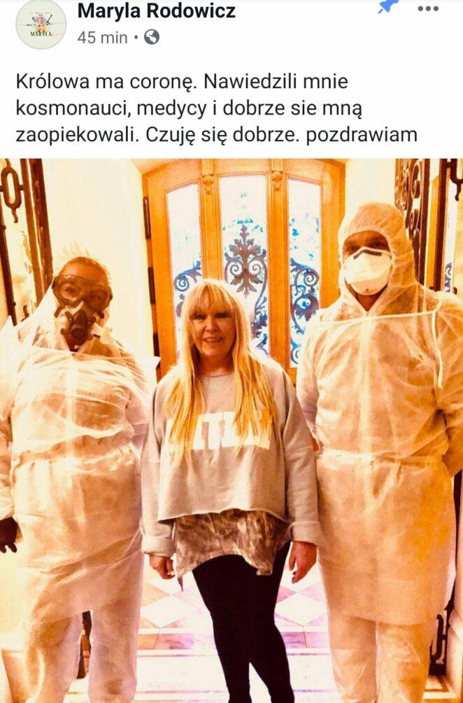 Radosław Majdan ma koronawirusa