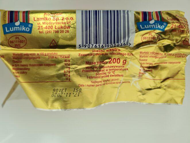 Salmonella w maśle