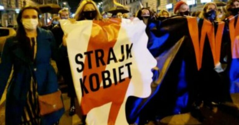 Strajk Kobiet w poniedziałek