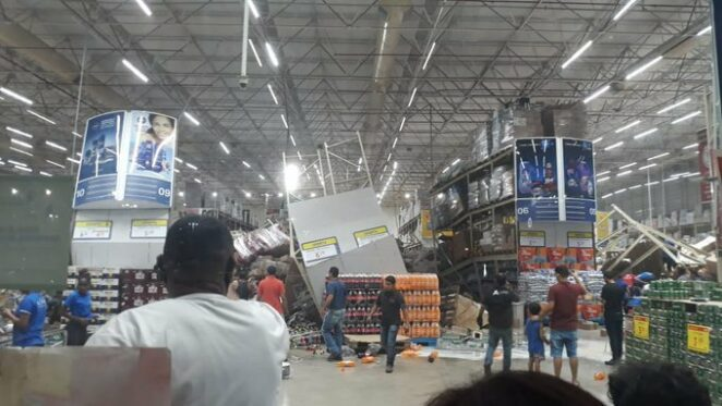 Tragiczny wypadek w supermarkecie