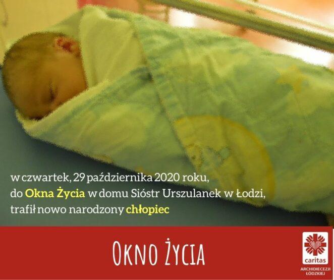 Znaleziono noworodka w oknie życia