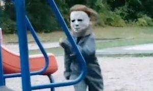 Najlepsze przebranie na Halloween? To dziecko sieje postrach wśród rówieśników!