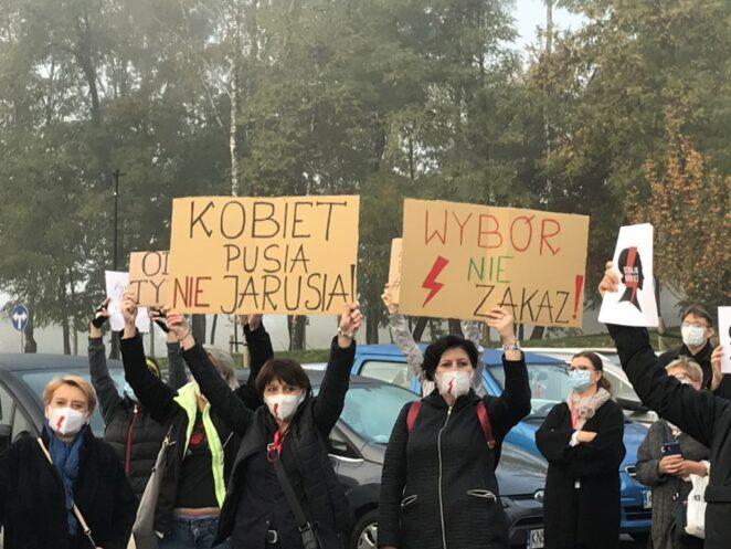 pielęgniarki rozpoczęły protest 2