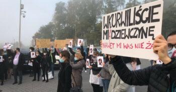 pielęgniarki rozpoczęły protest