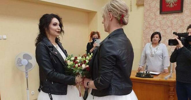 pierwszy lesbijski ślub w Polsce