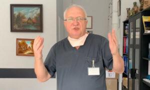 Prof. Simon zmienił zdanie w sprawie koronawirusa. Na protestach nie jest groźny