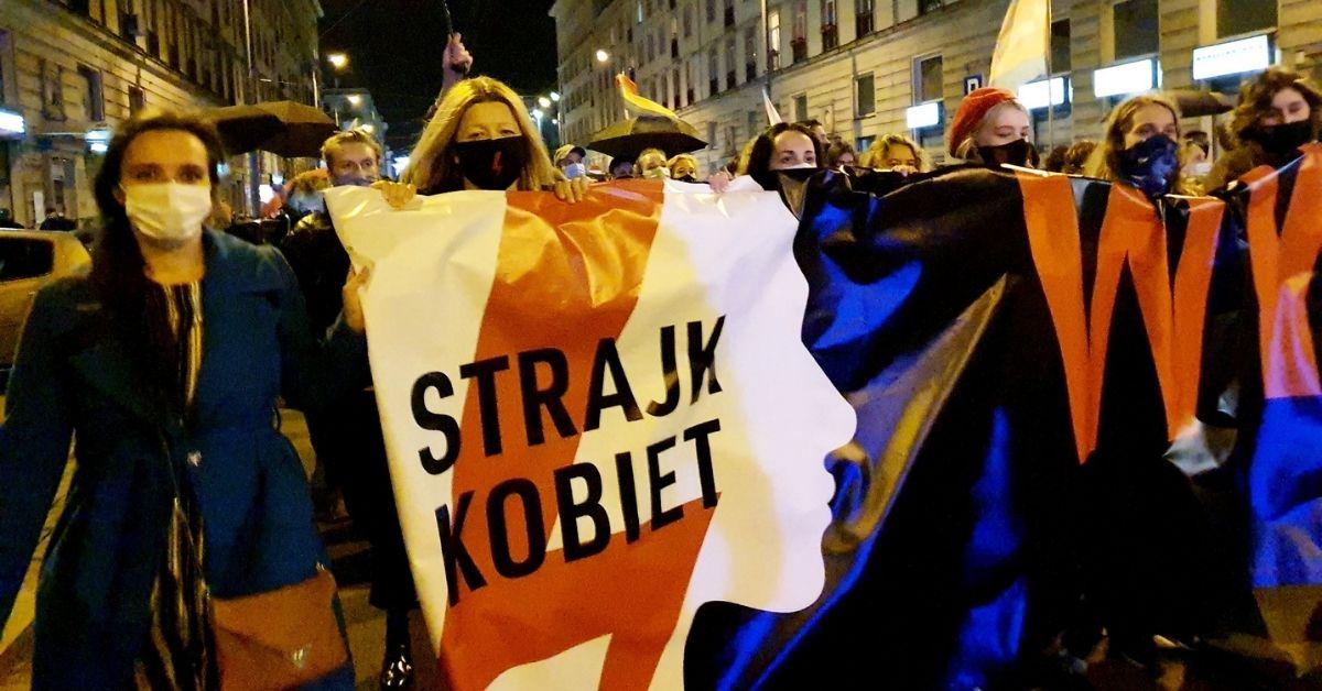 Protesty pod domem Kaczyńskiego