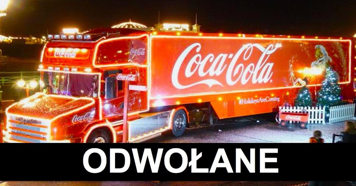 Coca-Cola odwołuje święta