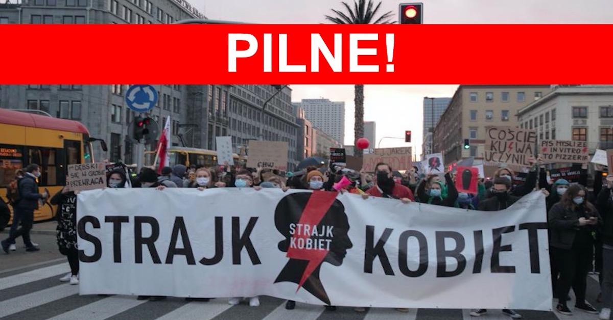 Dzisiaj w całej Polsce paraliż miast