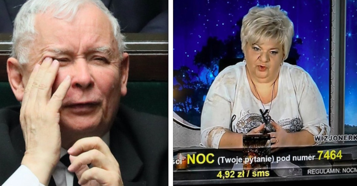 Przepowiednia wróżki dotycząca Jarosława Kaczyńskiego