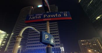 Skandaliczne napisy w stolicy