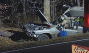 Tragiczny wypadek w Apolonce. Za kierownicą 18-latka, zginęło 2-letnie dziecko