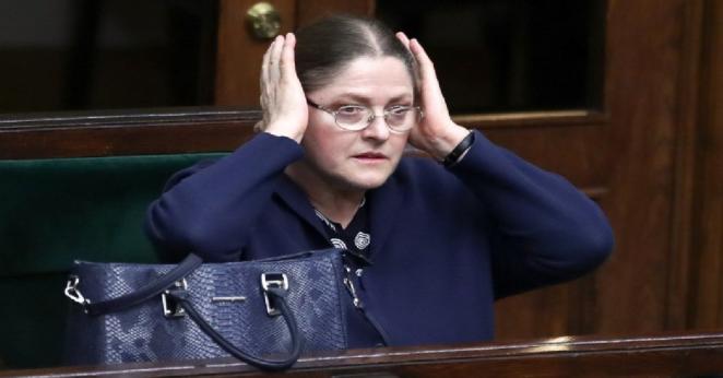 Krystyna Pawłowicz obraża widzów TVN