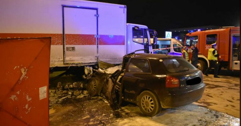 koszmarny wypadek w Łodzi