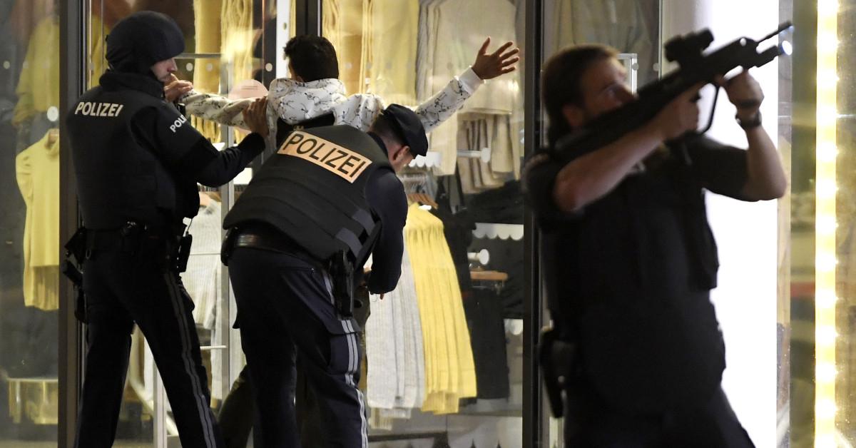krwawy atak ISIS w Wiedniu 4
