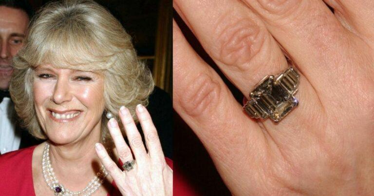 Pierścionek zaręczynowy księżnej Camilli