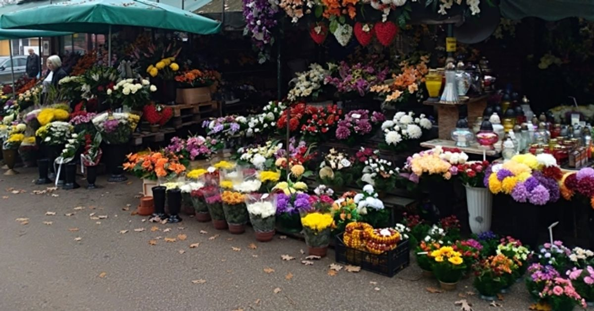 Pomoc dla sprzedawców kwiatów