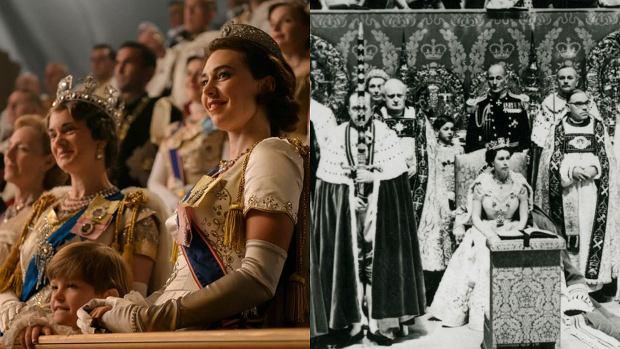 porównanie scen The Crown 5