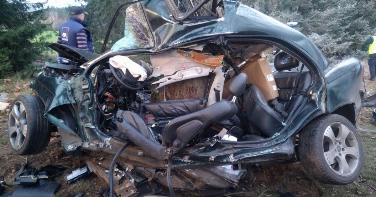 Śmiertelny wypadek koło Trzcianki