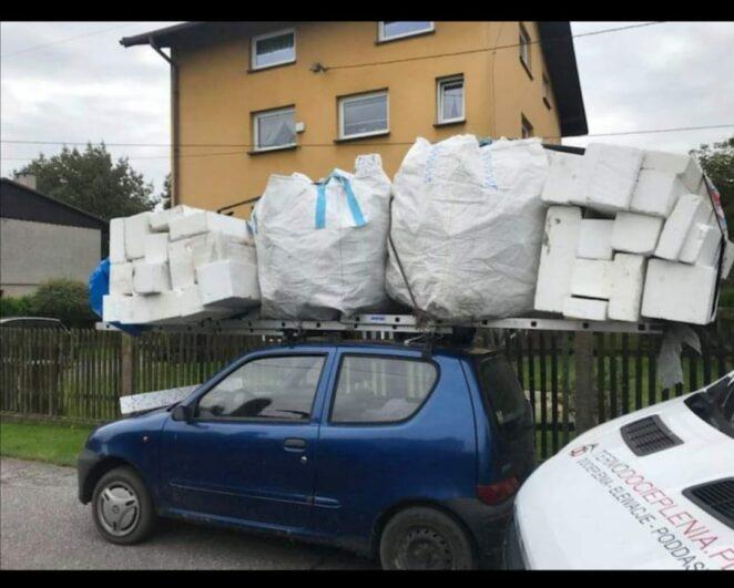 Bagaż dwa razy większy od auta
