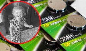 17-miesięczna dziewczynka połknęła baterię. Umierała w męczarniach