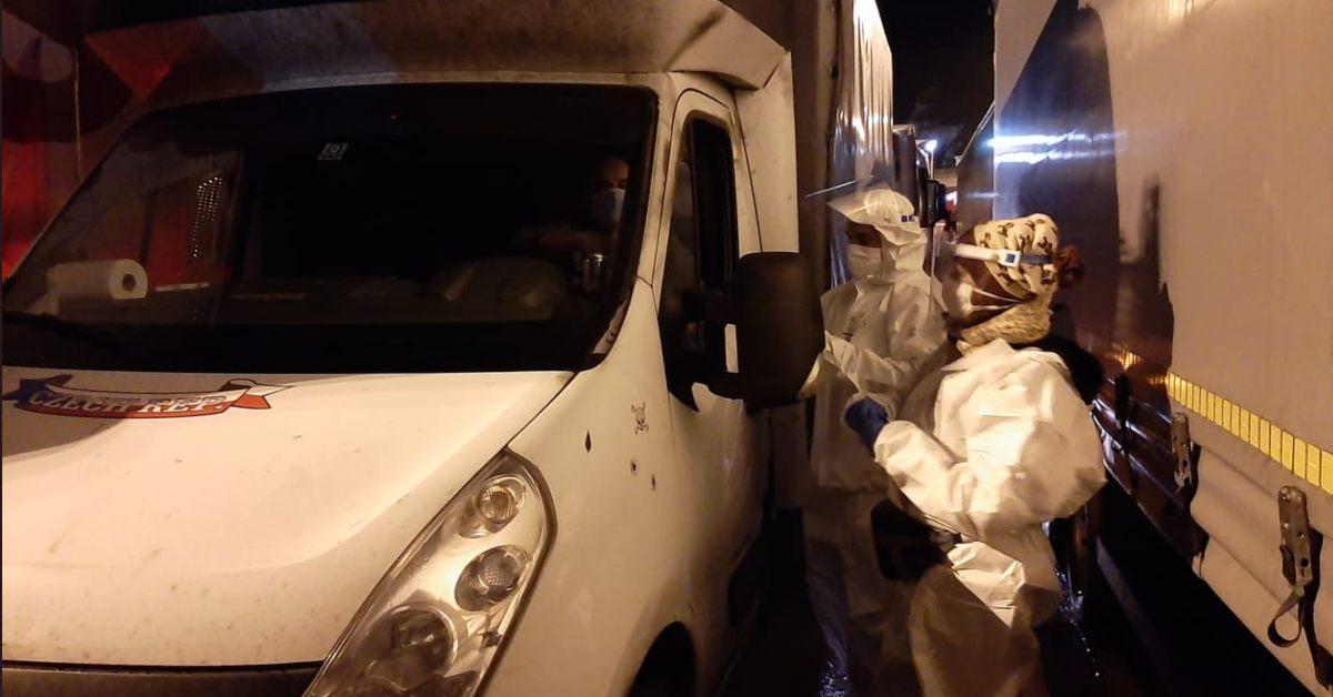 polscy kierowcy utknęli w Dover