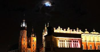 Trąby apokalipsy w Krakowie