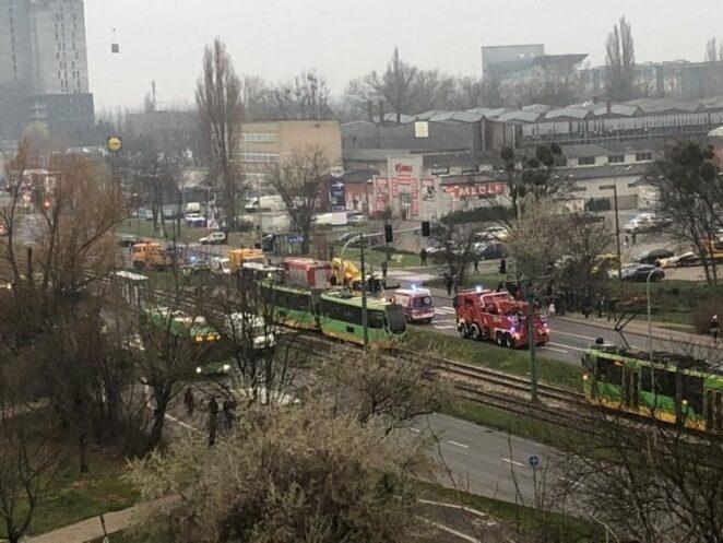 Tragiczny wypadek w Poznaniu