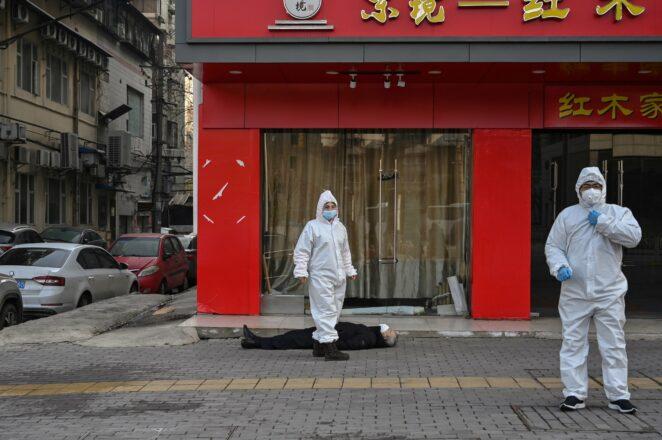 W Wuhan zapomnieli o pandemii
