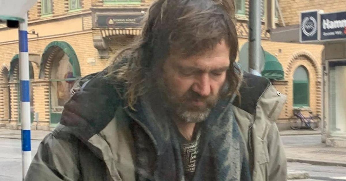 Bezdomny Polak z Malmo