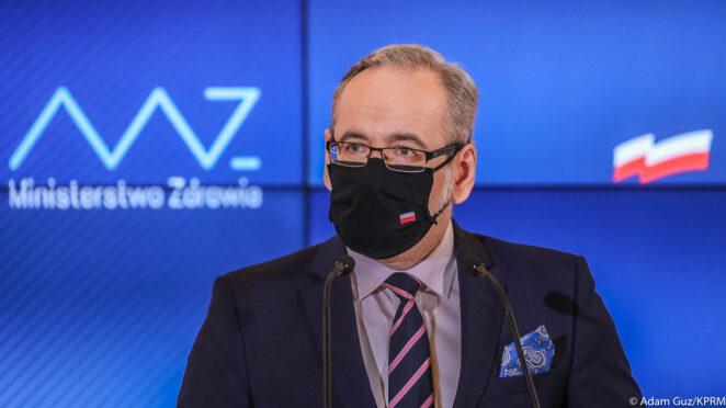 Konferencja prasowa Ministra Zdrowia