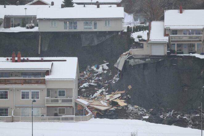 osunięcie ziemi w pobliżu Oslo 4