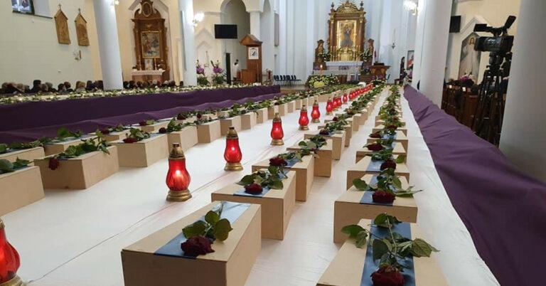 pogrzeb 400 płodów