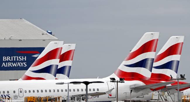 Zawieszone loty z Wielkiej Brytanii