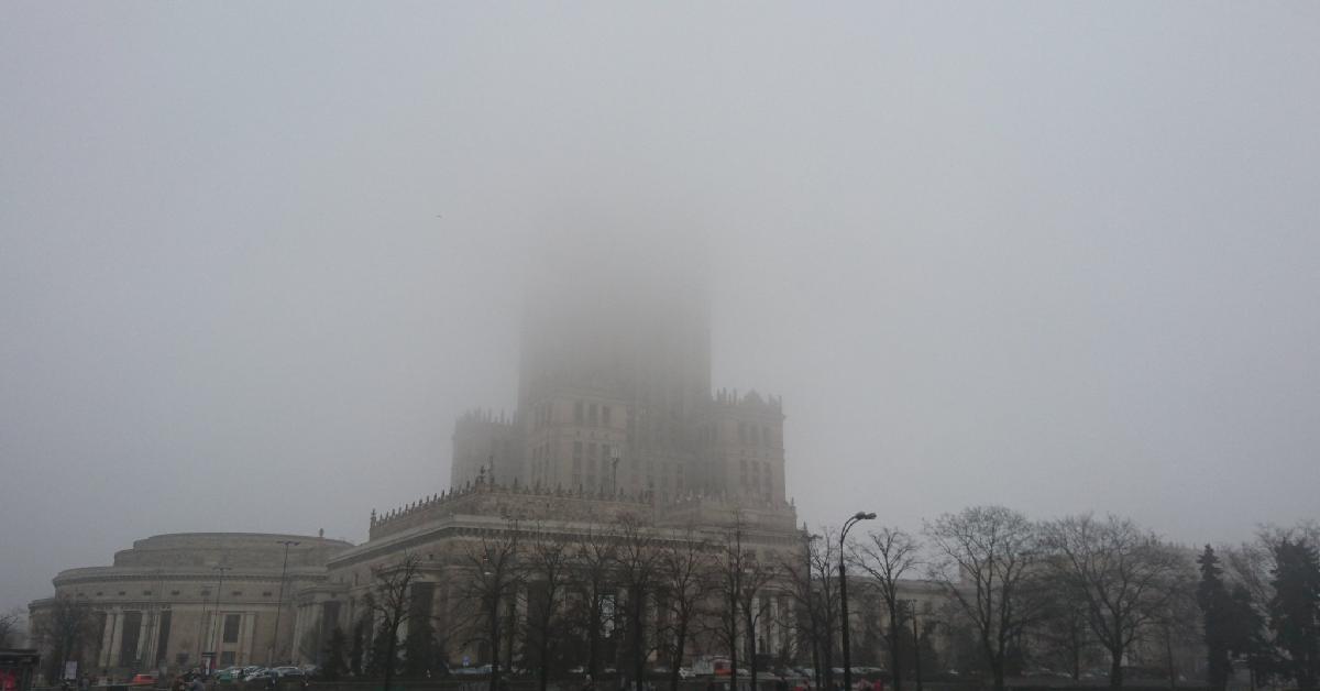 Alarm smogowy w Warszawie
