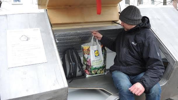 Kapsuły dla bezdomnych w niemieckim mieście