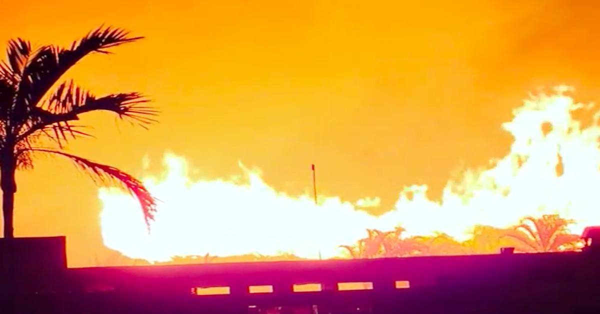 Hotele na Zanzibarze płoną