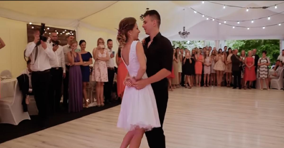 Imponujący pierwszy taniec