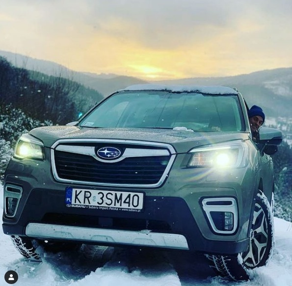 Piotr Żyła kupił nowy samochód